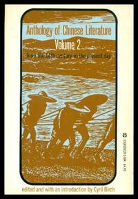 ANTHOLOGY OF CHINESE LITERATURE - Volume (2) Two - from the 14th Century to the Present Day