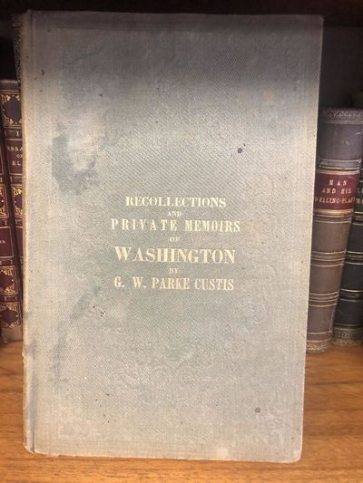 Washington, DC: William H. Moore, 1859. Hardcover. Octavo, 104 pages; VG-; spine is faded green; bin...