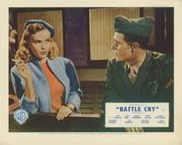 image of Battle Cry (Collection of 7 original British front-of-house cards from the 1955 film)