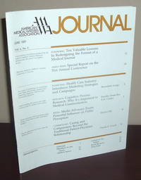 American Medical Writers Association (AMWA) Journal; Vol. 6 No. 2; June 1991