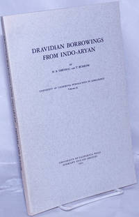 image of Dravidian Borrowings from Indo-Aryan