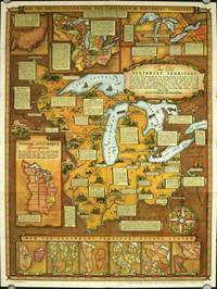 Historical Map of the Old Northwest Territory. (Map title: The Old Northwest Territory).