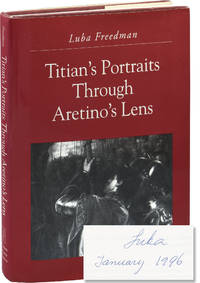 image of Titian's Portraits Through Aretino's Lens (Signed First Edition)