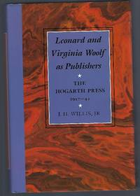 image of Leonard and Virginia Woolf as Publishers: The Hogarth Press, 1917?41