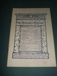 The Theosophic Messenger for September 1910