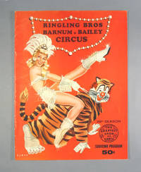 image of Ringling Bros. Barnum_Bailey Circus 1959 Souvenir Program, Walter Bomar Cover