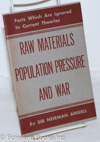 image of Raw Materials, Population Pressure, and War