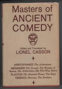 Masters of Ancient Comedy Selections from Aristophanes, Menander, Plautus,  Terence