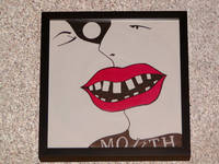 MOUTH BAND FRAMED RECORD COVER ALBUM