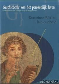 Geschiedenis van het persoonlijk leven. Romeinse Rijk en late oudheid