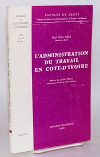 image of L'administration du travail en Cote-d'Ivoire