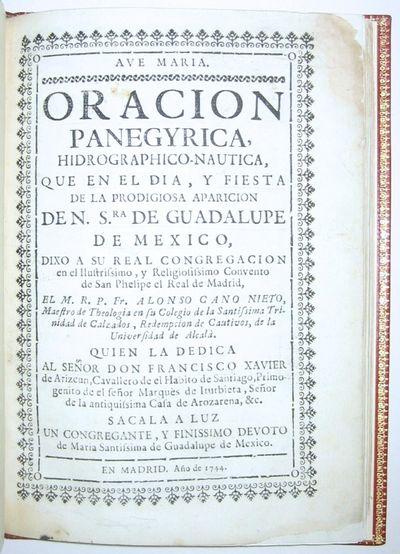 Oracion panegyrica...