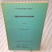 THE STONEWALKERS-UNCORRECTED PROOF COPY.
