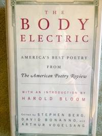 image of The Body Electric:  America's Best Poetry from The American Poetry Review
