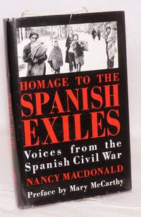 image of Homage to the Spanish exiles; voices from the Spanish Civil War
