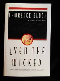 Even the Wicked SIGNED Advance Reader\'s Copy