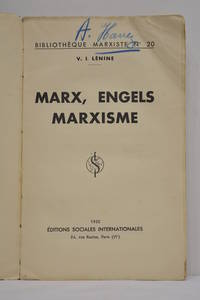 Marx, Engels, Marxisme.