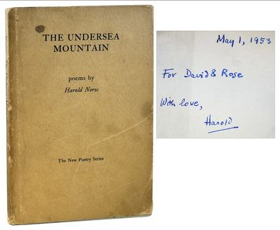 Denver: Alan Swallow. 1953. His first book, inscribed by the author in the year of publication: