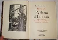 Pêcheur d'Islande. Édition Définitive. Avec 11 illustrations de Dethomas, Gravées par Paul Baudier.