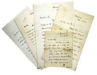 5 Autograph Letters, Signed. to various recipients. Some interesting thoughts on our Civil War