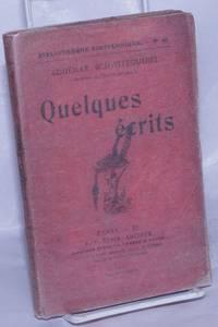 image of Quelques Écrits