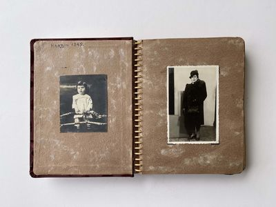 European Jewish refuge photo album...