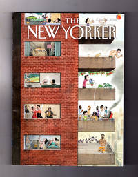 "image of The New Yorker - June 25, 2018. Harry Bliss Cover, ""City Living"". Prince's Lonely Paisley Park Palace; Stephen Smith Sportscasting; Edison Labs, 1891; London PR Scandal; Elementary School Hierarchy; Andres Obrador; Reza Abdoh; Kool & The Gang; Ann Dowd; 21 Clup Reopens; Trump Foreign Policy"