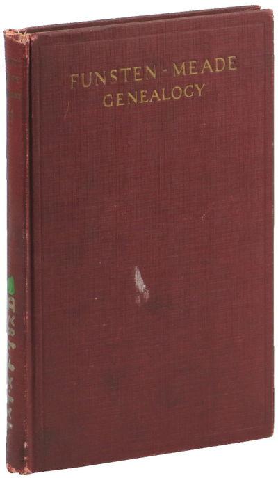 NY: Knickerbocker Press, 1926. Hardcover. Good. x, 83pp+ index, folding chart in rear. Ex Johns Hopk...