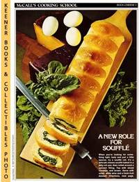 image of McCall's Cooking School Recipe Card: Eggs, Cheese 3 - Cheese Souffle' Roll  : Replacement McCall's Recipage or Recipe Card For 3-Ring Binders :  McCall's Cooking School Cookbook Series