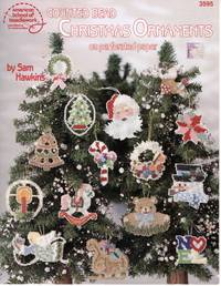 image of Counted Bead Christmas Ornaments on Perforated Paper (No. 3595)