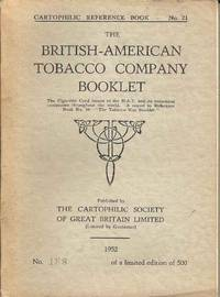 The British-American Tobacco Company Booklet.  Cartophilic Reference Book - No.21