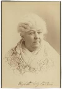 Signed Cabinet Card Portrait Photograph