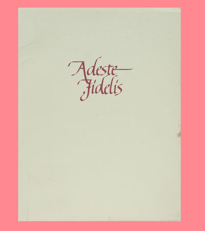 University of Tulsa, 1980. Soft Cover. Very Good binding. A Christmas Keepsake from the Rare Books a...