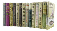 A COMPLETE SET OF JAMES BOND BOOKS Comprising: Casino Royale; Live and Let Die; Moonraker;...