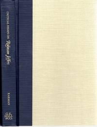 Critical Essays on Robinson Jeffers