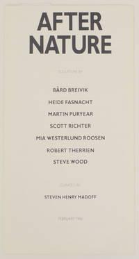 After Nature: Sculpture by Bard Breivik, Heide Fasnacht, Martin Puryear, Scott Richter, Mia Westerlund Roosen, Robert Therrien, Steven Wood