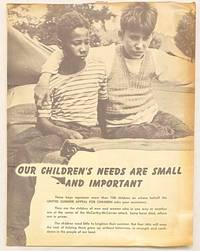image of Our children's needs are small - and important