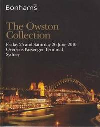 The Owston Collection - Friday 25 and Saturday 26 June 2010 Overseas Passenger Terminal Sydney