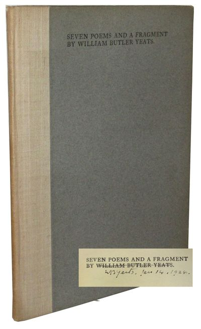 Dundrum: The Cuala Press, 1922 First edition, first impression. One of 500 copies. Signed and inscri...