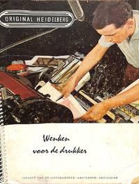 Wenken Voor De drukker. Original Heidelberg.