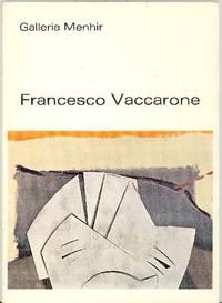 Francesco Vaccarone. Opere recenti