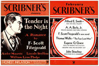 TENDER IS THE NIGHT [IN] SCRIBNER'S MAGAZINE (VOL.XCV. NOS.1-4, JANUARY-APRIL, 1934) by  Edward (illustrations)  F. Scott (novel); Shenton - First Edition - 1934 - from Captain Ahab's Rare Books and Biblio.com