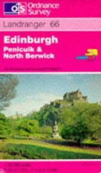 image of Edinburgh, Penicuik and North Berwick (Landranger Maps)