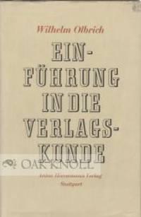 Stuttgart: Karl W. Hiersemann, 1955. cloth, dust jacket. 8vo. cloth, dust jacket. (viii), 247 pages....