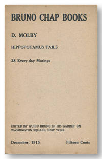 BRUNO CHAP BOOKS HIPPOPOTAMUS TAILS 28 EVERY- DAY MUSINGS. By D. Molby