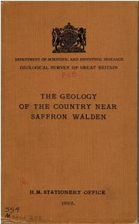 The geology of the country near Saffron Walden