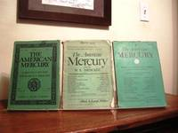 The American Mercury: April 1928, March 1933, February 1936 (Three Issues)