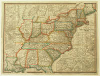The Travellers Guide or Map of the Roads, Canals & Rail Roads of the United States, with the distances from place to place