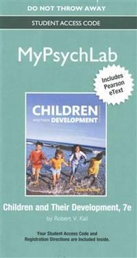 children and their development kail pdf