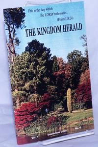 image of The Kingdom Herald, vol. 1, no. 6, September, 2008